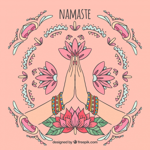 El poderoso significado de la palabra Namasté